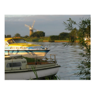 Norfolk Broads - Postcard