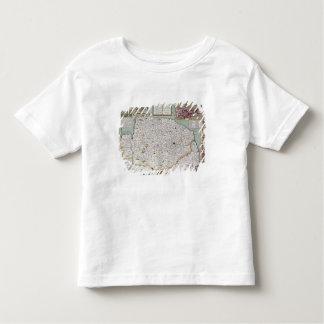 Norfolk, engraved by Jodocus Hondius Toddler T-Shirt