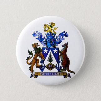 Norfolk Island COA 6 Cm Round Badge