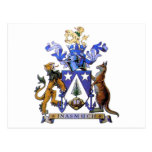 Norfolk Island Coat of Arms Post Cards