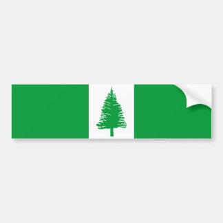 Norfolk Island country flag nation symbol Bumper Sticker