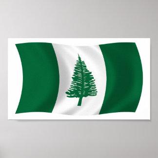 Norfolk Island Flag Poster Print