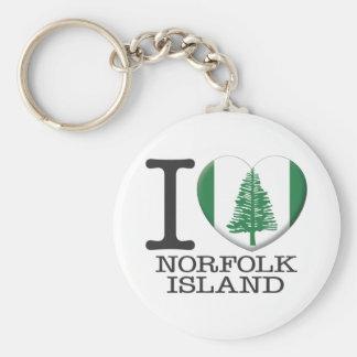 Norfolk Island Key Ring