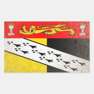 Norfolk Rectangular Sticker
