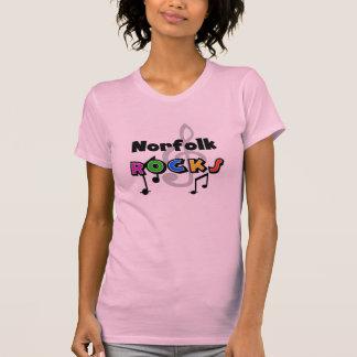 Norfolk Rocks T-shirts