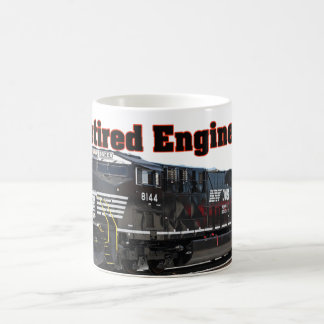 Norfolk & Southern Retired Engineer Coffee Mug