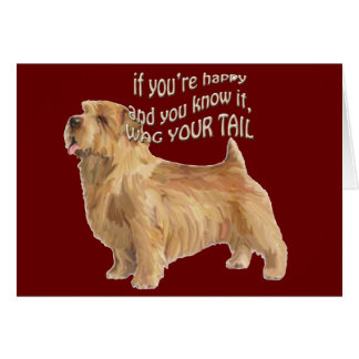 norfolk terrier card