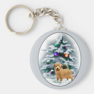 Norfolk Terrier Christmas Gifts Key Ring