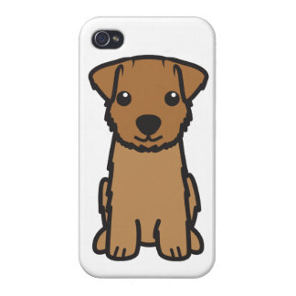 Norfolk Terrier Dog Cartoon iPhone 4/4S Cover