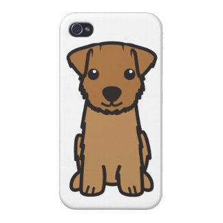 Norfolk Terrier Dog Cartoon iPhone 4 Cases
