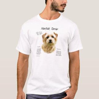 Norfolk Terrier History Design T-Shirt