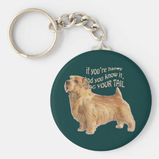 norfolk terrier key ring