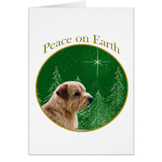 Norfolk Terrier Peace Greeting Cards