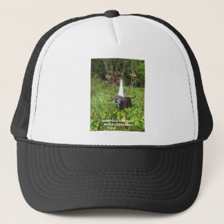 Norfolk Unicorn Hoax Unmasked Trucker Hat