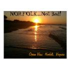 Norfolk Virginia Poscard Postcard