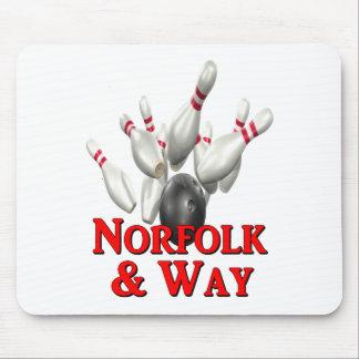 Norfolk & Way Bowling Mouse Pad