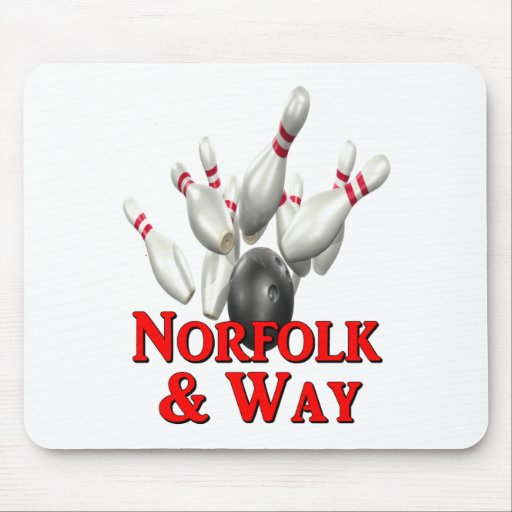 Norfolk & Way Bowling Mouse Pads
