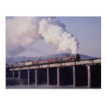Norfolk & Western No. 611 crosses the Tennessee Ri Post Cards