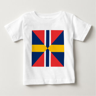 Norge Sverige Sildesalaten, Norway Baby T-Shirt