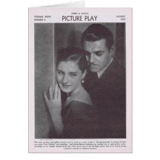 Norma Shearer 1932 Card