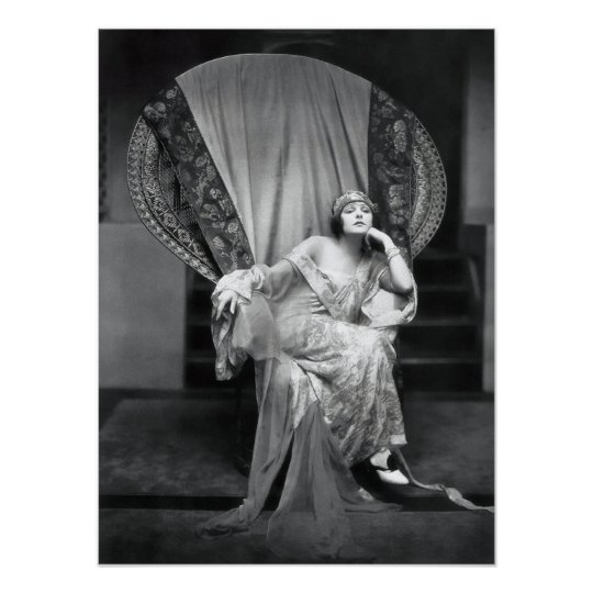 Norma Talmadge Poster