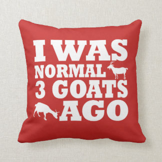 Normal 3 Goats Ago Cushion