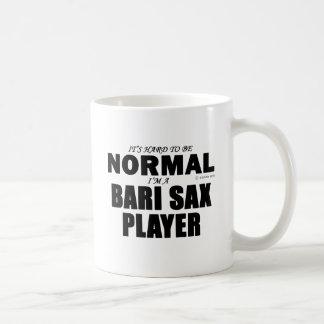 Normal Bari Sax Player Coffee Mug