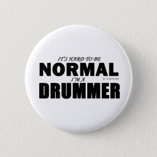 Normal Drummer 6 Cm Round Badge