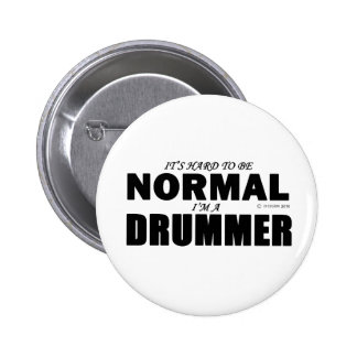 Normal Drummer 6 Cm Round Badge
