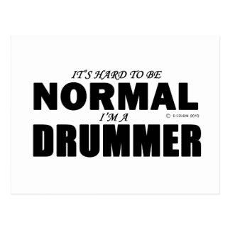 Normal Drummer Postcard