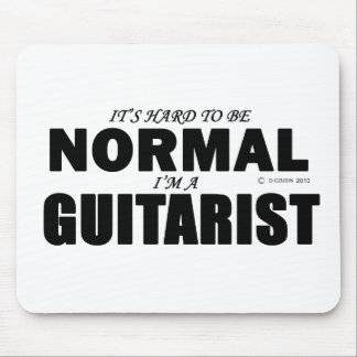 Normal Guitarist Mouse Pad