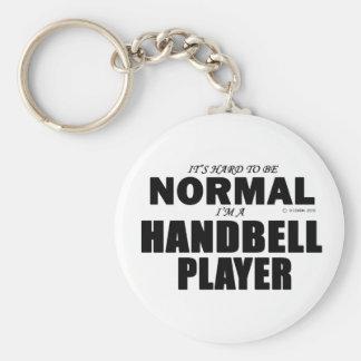 Normal Handbell Player Keychain