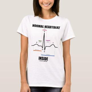 Normal Heartbeat Inside (ECG EKG) T-Shirt