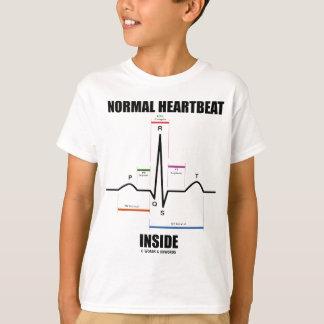 Normal Heartbeat Inside (ECG EKG) Tshirt