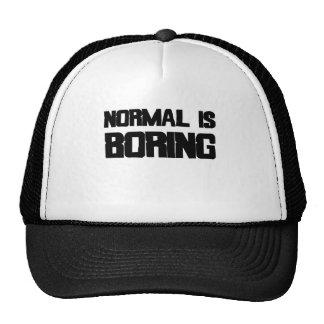Normal Is Boring Trucker Hats
