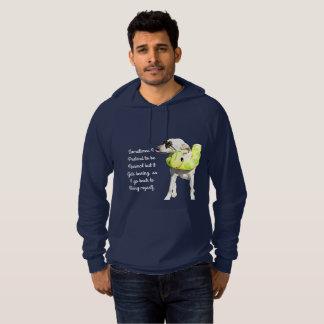 Normal is boring. hoodie