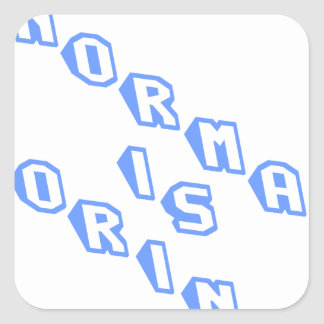 normal-is-boring-slice.png square sticker