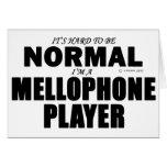 Normal Mellophone Player Card