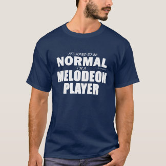 Normal Melodeon Player T-Shirt
