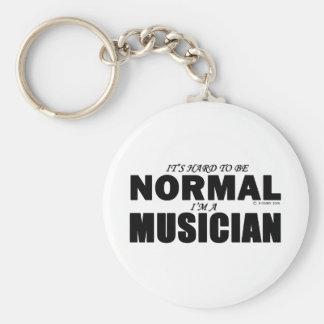 Normal Musician Key Ring