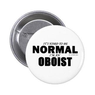 Normal Oboist Pinback Buttons