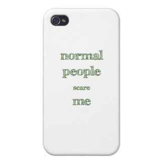 Normal People Scare Me Covers For iPhone 4