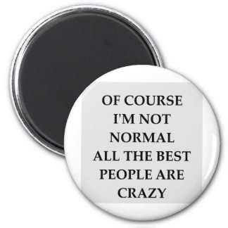 NORMAL.png 6 Cm Round Magnet