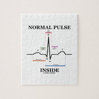 Normal Pulse Inside (ECG/EKG Electrocardiogram) Jigsaw Puzzles