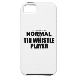 Normal Tin Whistle Player iPhone 5 Cases