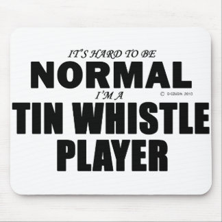 Normal Tin Whistle Player Mousepads
