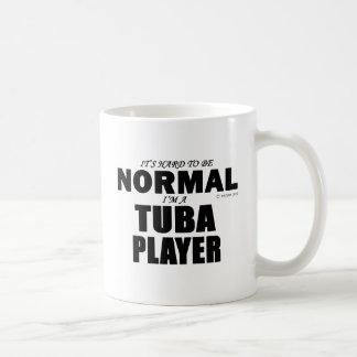 Normal Tuba Player Basic White Mug