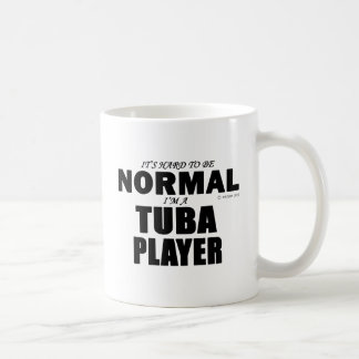 Normal Tuba Player Classic White Coffee Mug