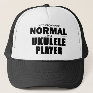 Normal  Ukulele Player Trucker Hat
