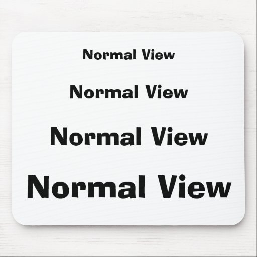 Normal View Mouse Pads
